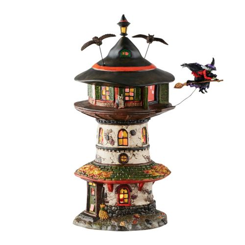 Department 56 Witch Way Home Tower